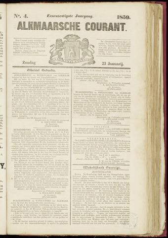 Alkmaarsche Courant 1859-01-23