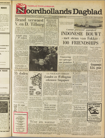 Noordhollands Dagblad : dagblad voor Alkmaar en omgeving 1965-08-10