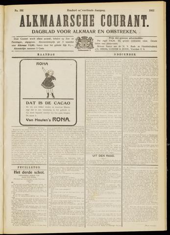 Alkmaarsche Courant 1912-12-09