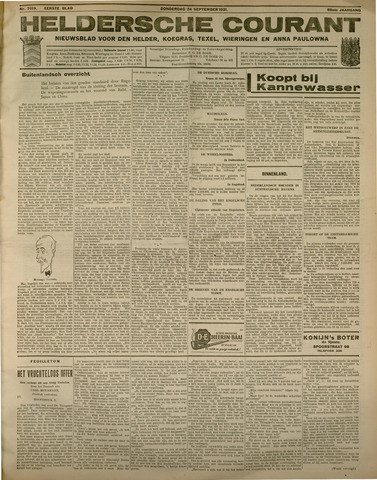 Heldersche Courant 1931-09-24