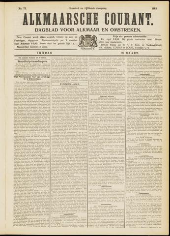 Alkmaarsche Courant 1913-03-28