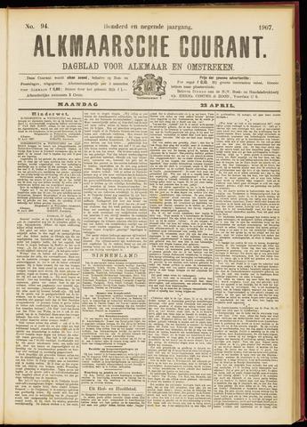 Alkmaarsche Courant 1907-04-22