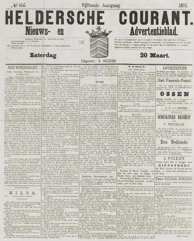 Heldersche Courant 1875-03-20