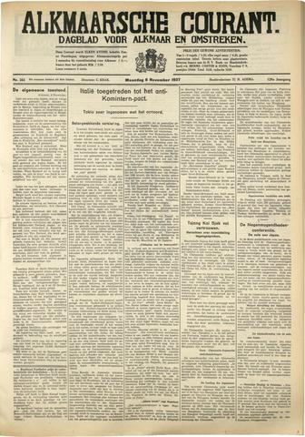 Alkmaarsche Courant 1937-11-08