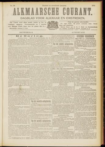 Alkmaarsche Courant 1915-02-04