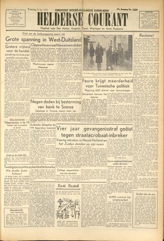 Heldersche Courant 1952-01-23