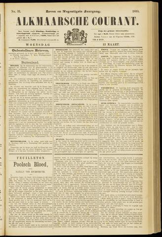 Alkmaarsche Courant 1895-03-13