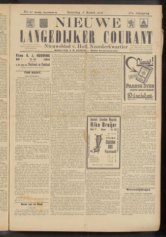 Nieuwe Langedijker Courant 1928-03-17