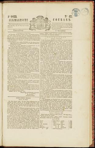 Alkmaarsche Courant 1853-11-07