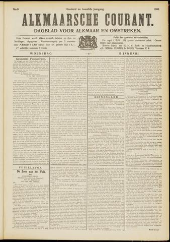 Alkmaarsche Courant 1910-01-12