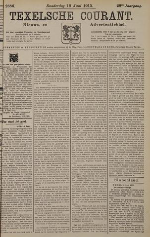 Texelsche Courant 1915-06-10