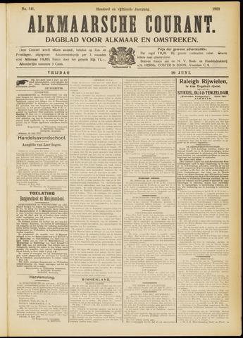 Alkmaarsche Courant 1913-06-20