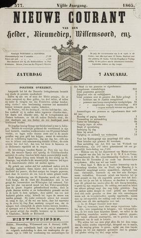 Nieuwe Courant van Den Helder 1865-01-07