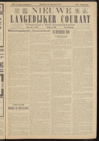 Nieuwe Langedijker Courant 1929-01-15