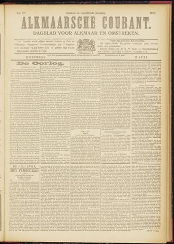 Alkmaarsche Courant 1917-06-13