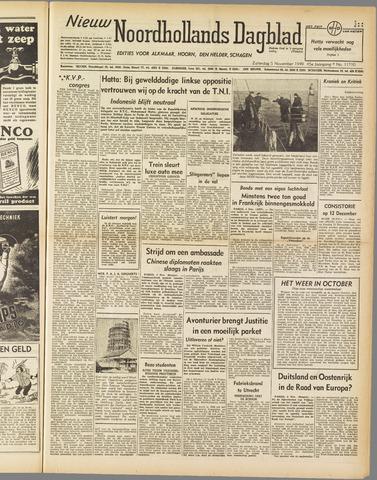Nieuw Noordhollandsch Dagblad : voor Alkmaar en omgeving 1949-11-05