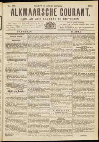 Alkmaarsche Courant 1906-07-21