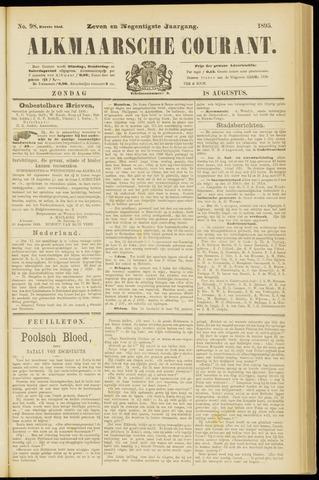 Alkmaarsche Courant 1895-08-18