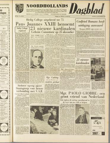 Noordhollands Dagblad : dagblad voor Alkmaar en omgeving 1958-11-18