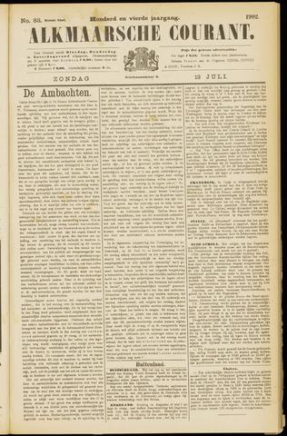 Alkmaarsche Courant 1902-07-13