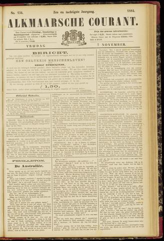 Alkmaarsche Courant 1884-11-07