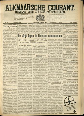 Alkmaarsche Courant 1933-03-02