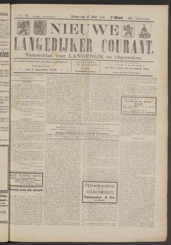 Nieuwe Langedijker Courant 1921-05-21