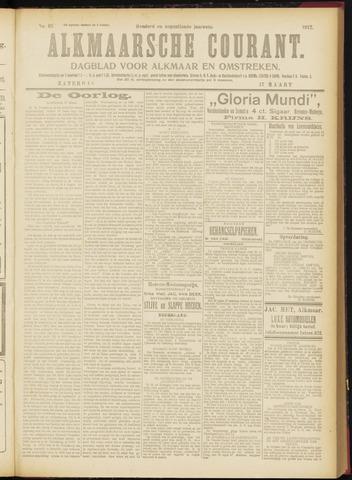 Alkmaarsche Courant 1917-03-17