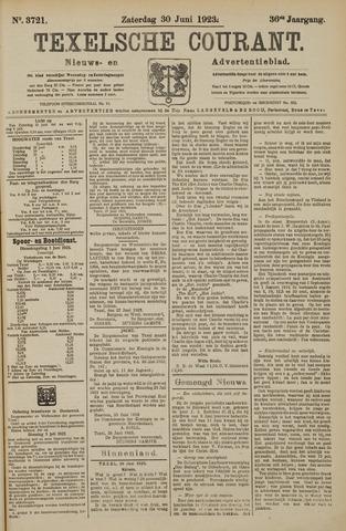 Texelsche Courant 1923-06-30