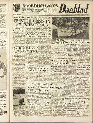 Noordhollands Dagblad : dagblad voor Alkmaar en omgeving 1958-09-30
