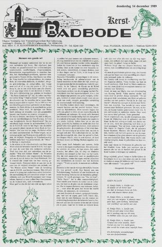 Badbode voor Callantsoog 1989-12-14