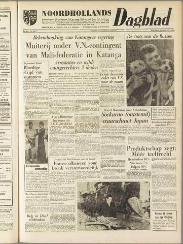 Noordhollands Dagblad : dagblad voor Alkmaar en omgeving 1960-08-24