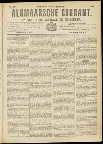 Alkmaarsche Courant 1906-01-24