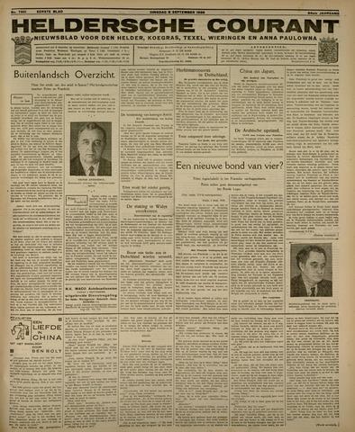 Heldersche Courant 1936-09-08