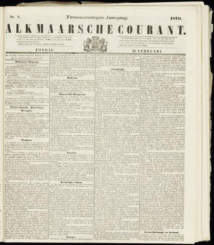 Alkmaarsche Courant 1870-02-20
