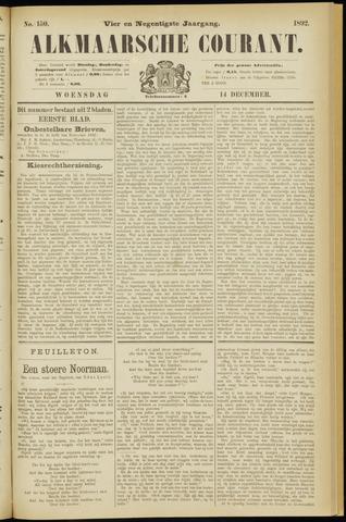 Alkmaarsche Courant 1892-12-14
