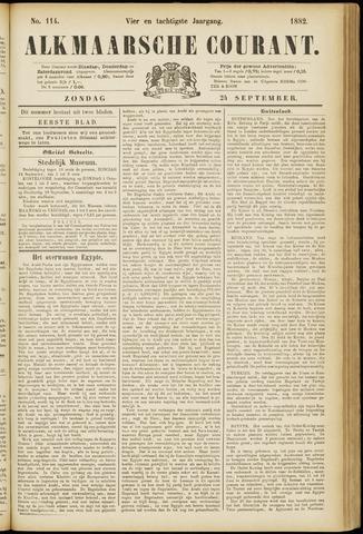 Alkmaarsche Courant 1882-09-24