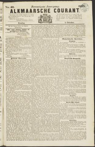 Alkmaarsche Courant 1868-10-04