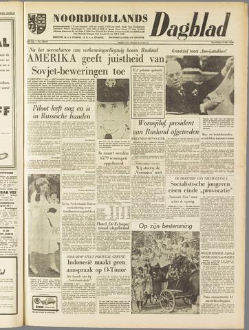 Noordhollands Dagblad : dagblad voor Alkmaar en omgeving 1960-05-09
