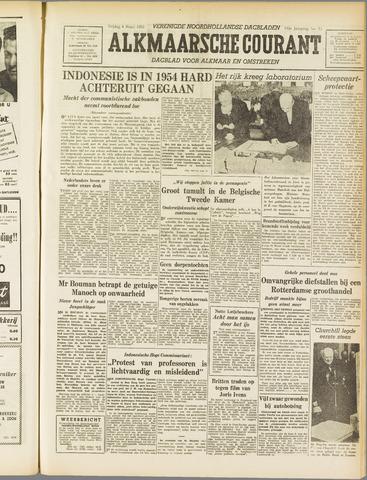 Alkmaarsche Courant 1955-03-04