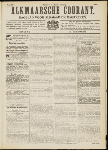 Alkmaarsche Courant 1908-12-22
