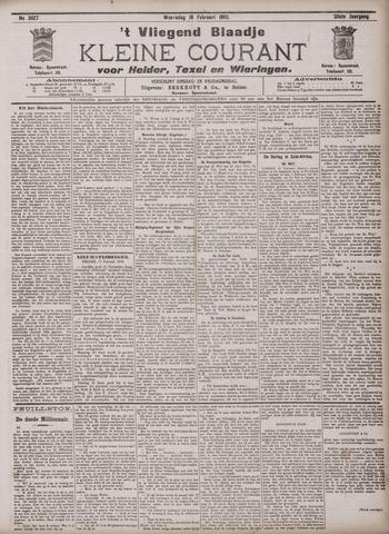 Vliegend blaadje : nieuws- en advertentiebode voor Den Helder 1902-02-19