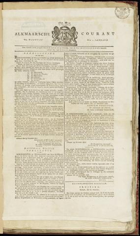 Alkmaarsche Courant 1827-01-01