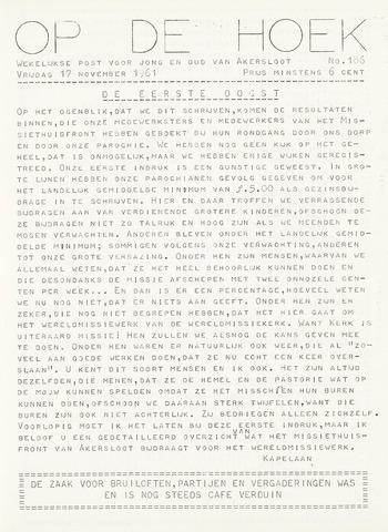 Op De Hoek, weekblad voor Akersloot 1961-11-17