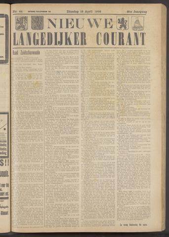 Nieuwe Langedijker Courant 1926-04-13