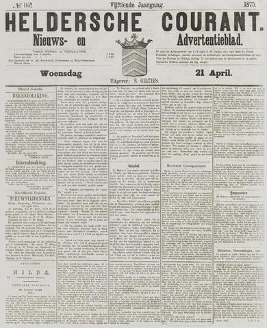 Heldersche Courant 1875-04-21