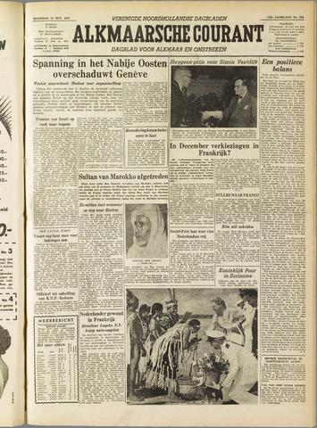 Alkmaarsche Courant 1955-10-31