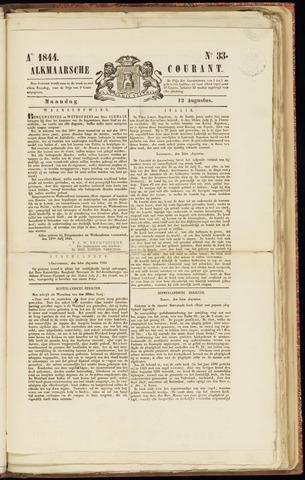 Alkmaarsche Courant 1844-08-12