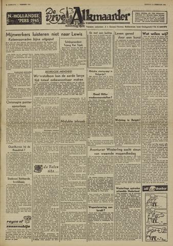De Vrije Alkmaarder 1950-02-28