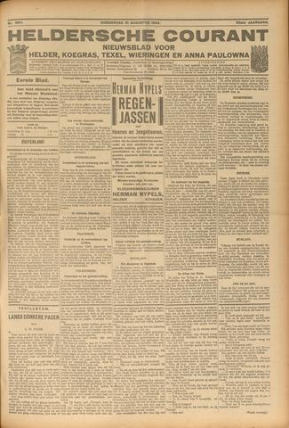 Heldersche Courant 1924-08-21